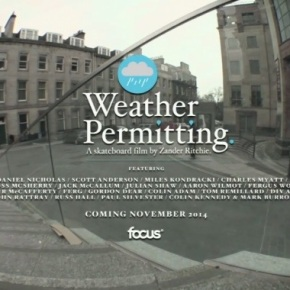 "Focus Skateshop's ""weather permitting"" trailer"