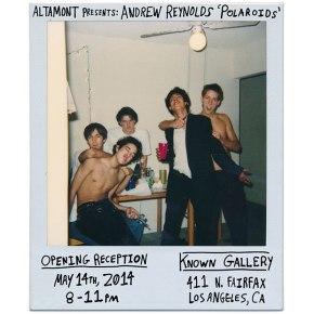 Andrew Reynolds Polaroidshow